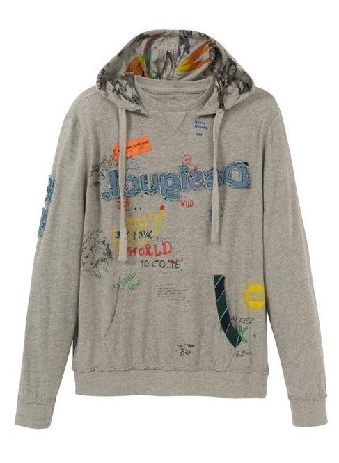 Desigual MAGNAR hoodie T-shirt SS2020