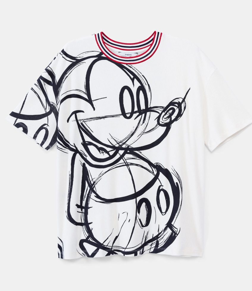 Desigual Mickey Mouse T Shirt 125 95 Ss2020 20swtk59 D Angelvancouver
