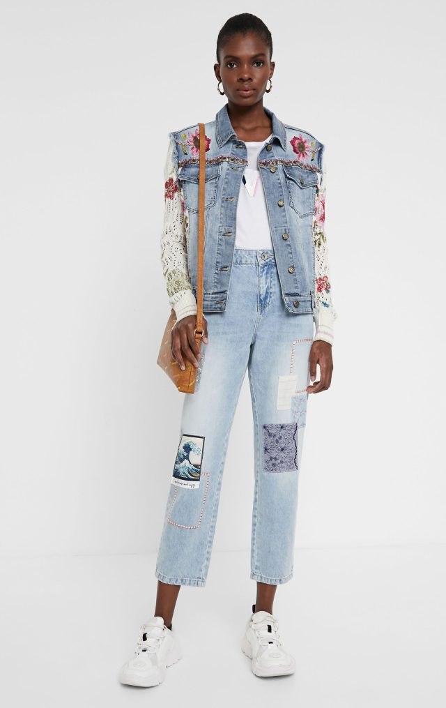 Desigual VILLENA denim jacket Summer 2020 collection