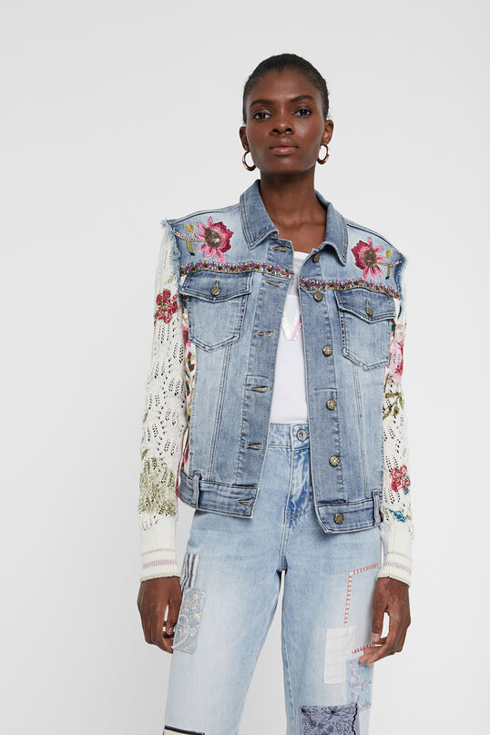 Desigual VILLENA denim jacket SS2020.
