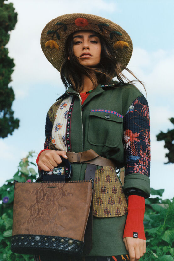 Desigual YUKON sahara jacket Summer 2020 collection.