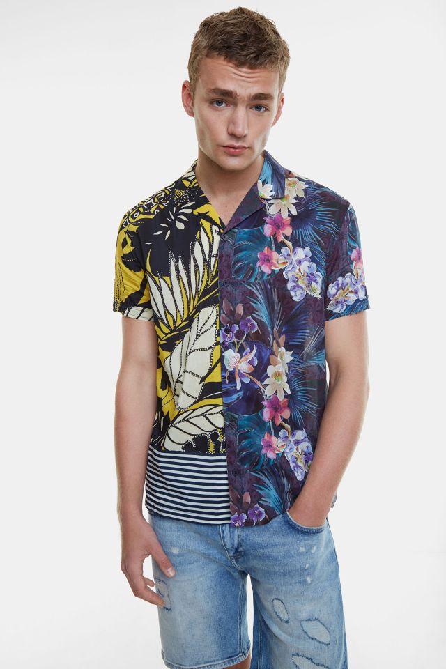 Desigual CORNAC Hawaiian shirt. SS2020