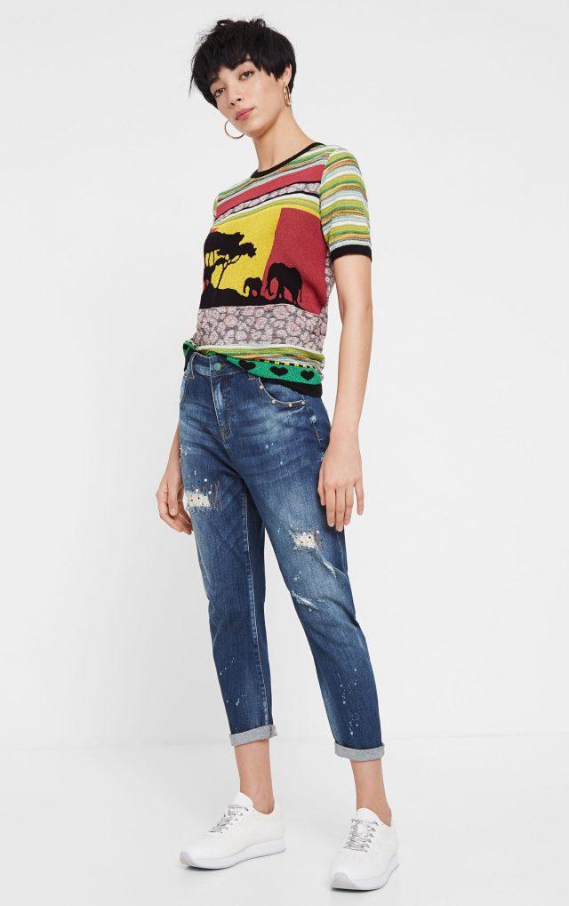 Desigual LENNON boyfriend jeans SS2020