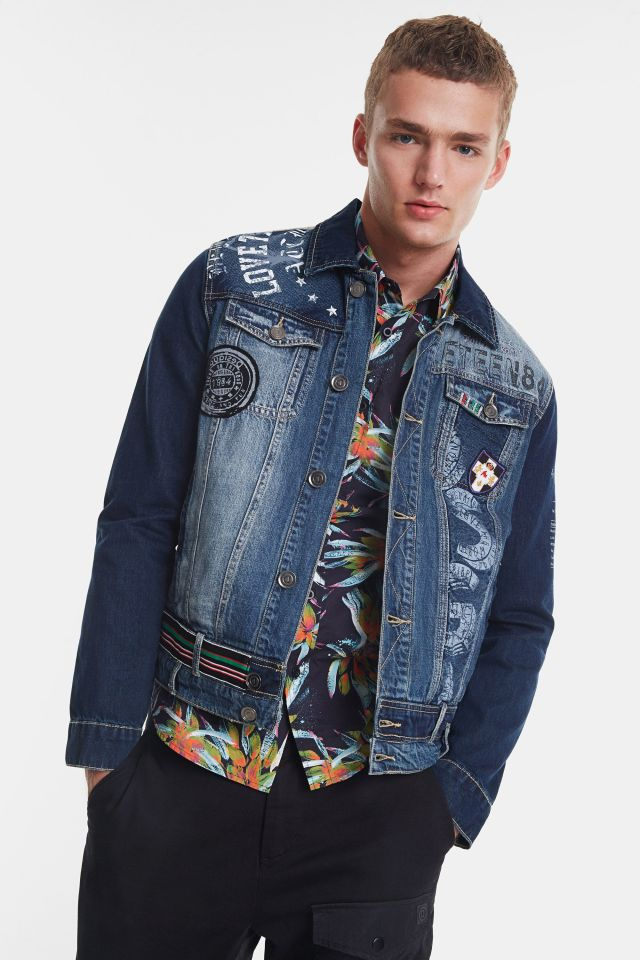 Desigual ADAM denim jacket Spring-Summer 2020