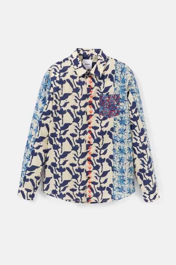 Desigual EAMANUEL organic cotton shirt. $149.95. SS2020.