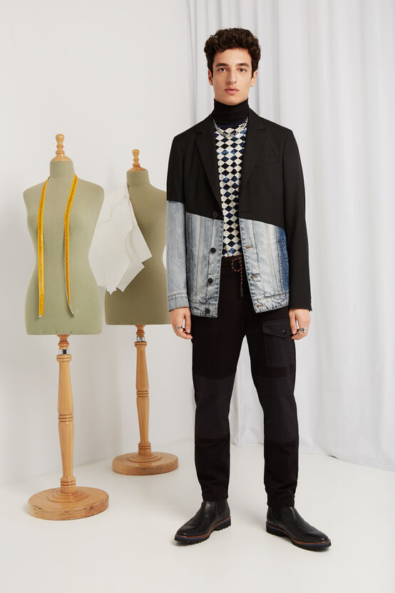 Desigual HYBRID blazer Spring-Summer 2020 collection for men