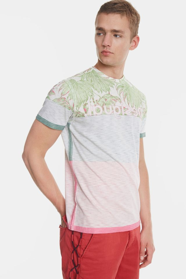 Desigual MAGNUS tropical T-shirt 100% cotton SS2020
