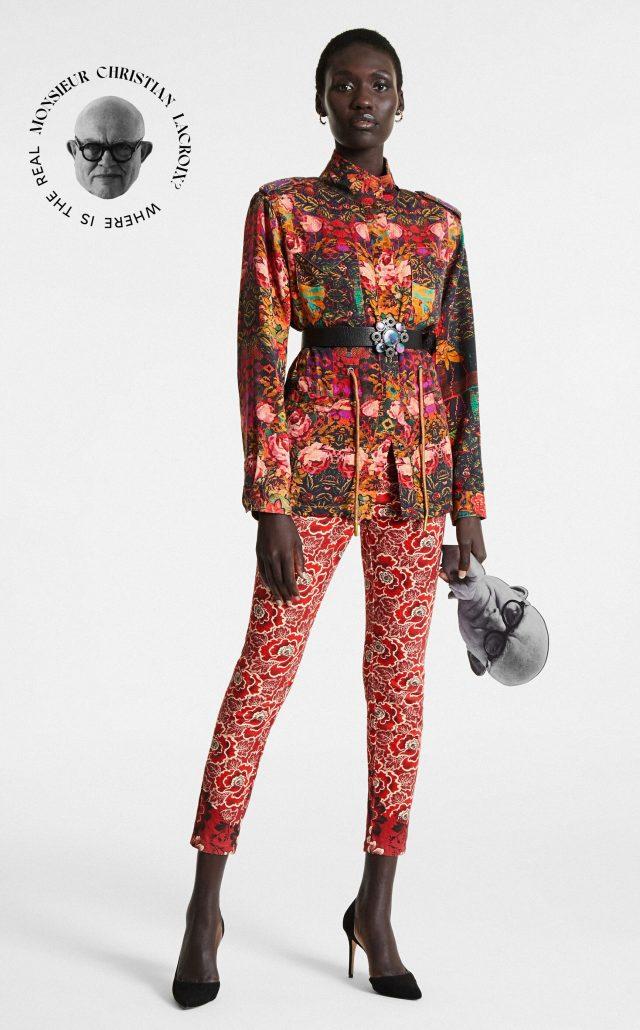 Desigual BRUTAL FLORAL jacket by Christian Lacroix. $309.95. FW2020.