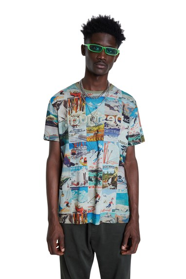 Desigual BRAD cotton ski T-shirt FW2020