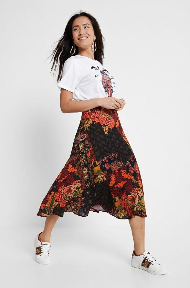 Desigual ALBURY midi skirt by Christian Lacroix FW2020