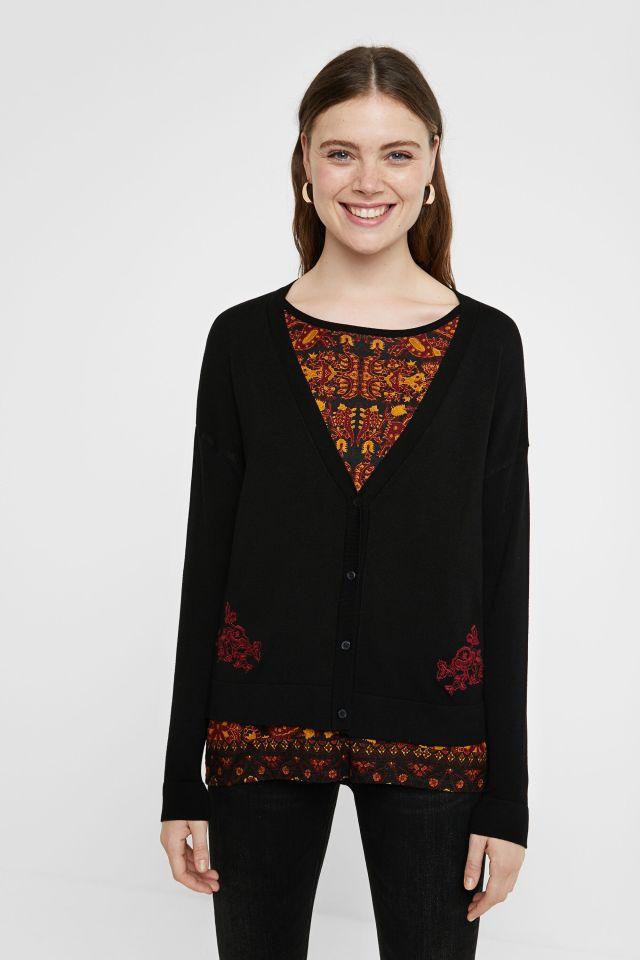 Desigual DAKOTA cardigan sweater FW2020 20WWJFBG