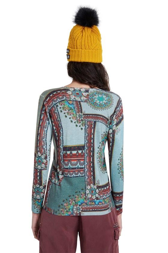 Desigual DUNDEE boho sweater FW2020 20WWJF74