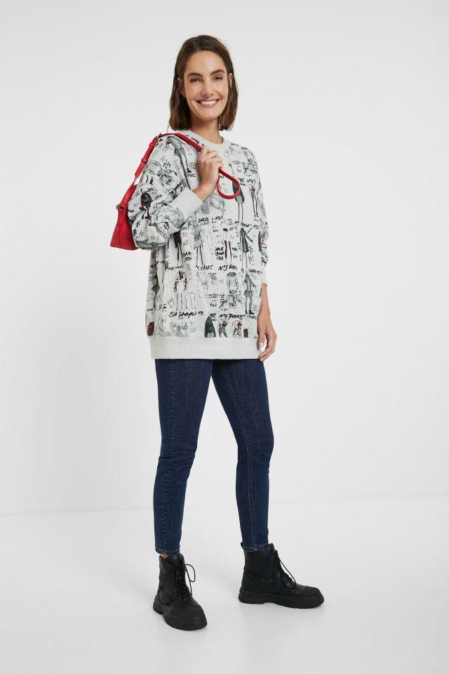 Desigual ERIE sweatshirt. $169,95. FW2020. 20WWSK23