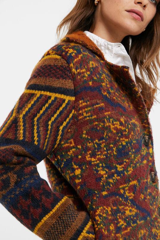 Desigual HAMINA chunky knit jacket FW2020