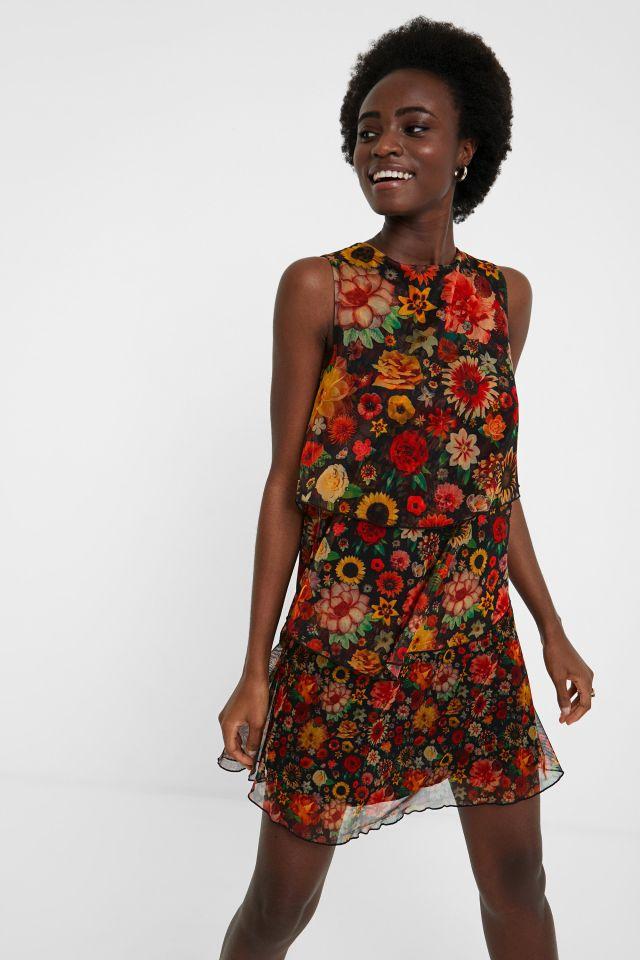 Desigual LUISI dress designed by Christian Lacroix FW2020.