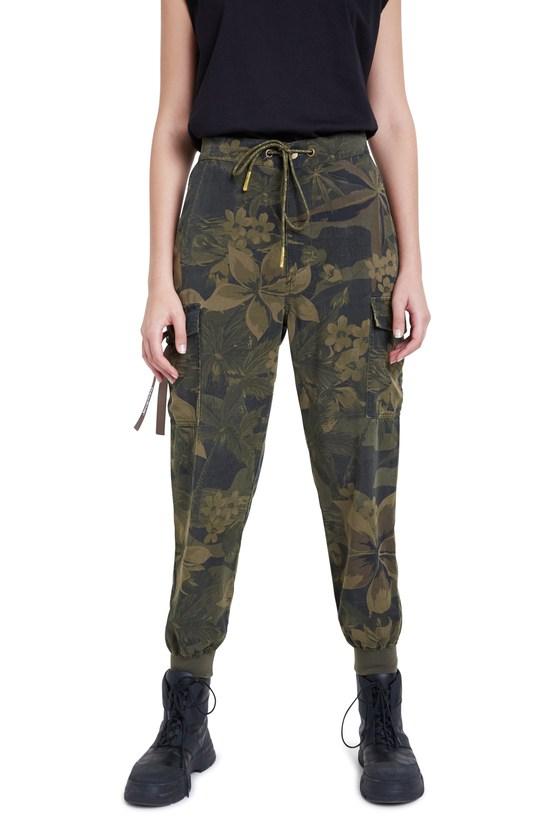 Desigual MALALA camoflower pants. $169.95. FW2020. 20WWPN15