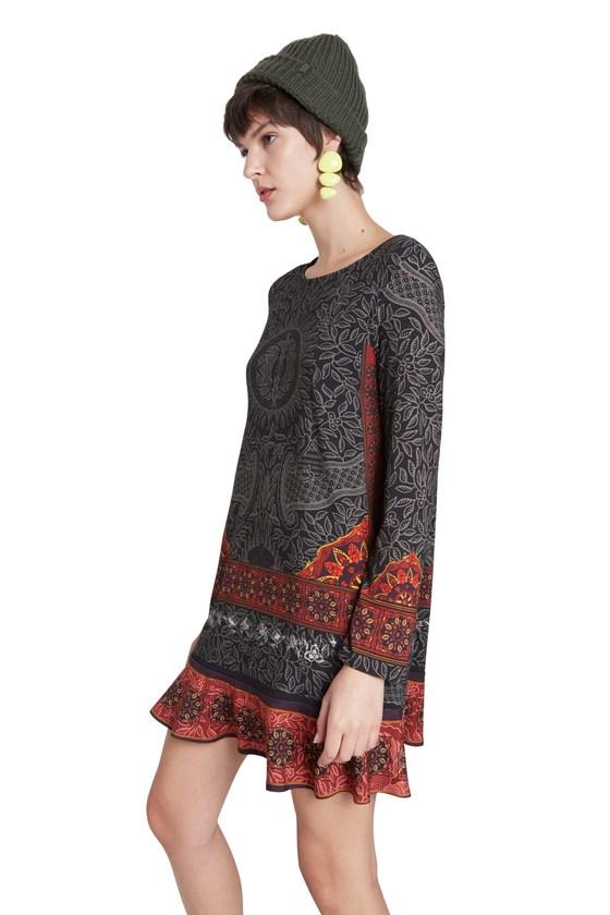 Desigual NAGOYA dress FW2020 Made in Morocco