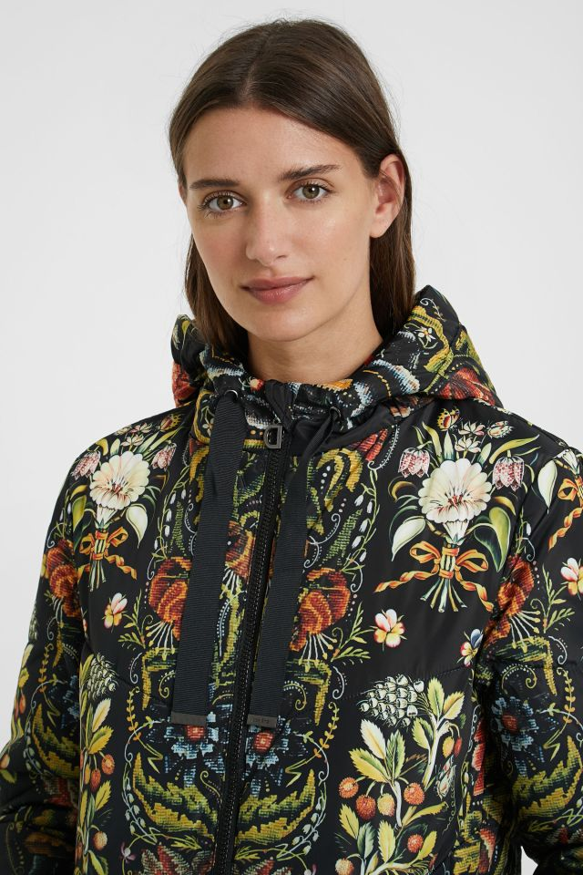 Desigual PADDED SAUVAGE coat by Christian Lacroix FW2020