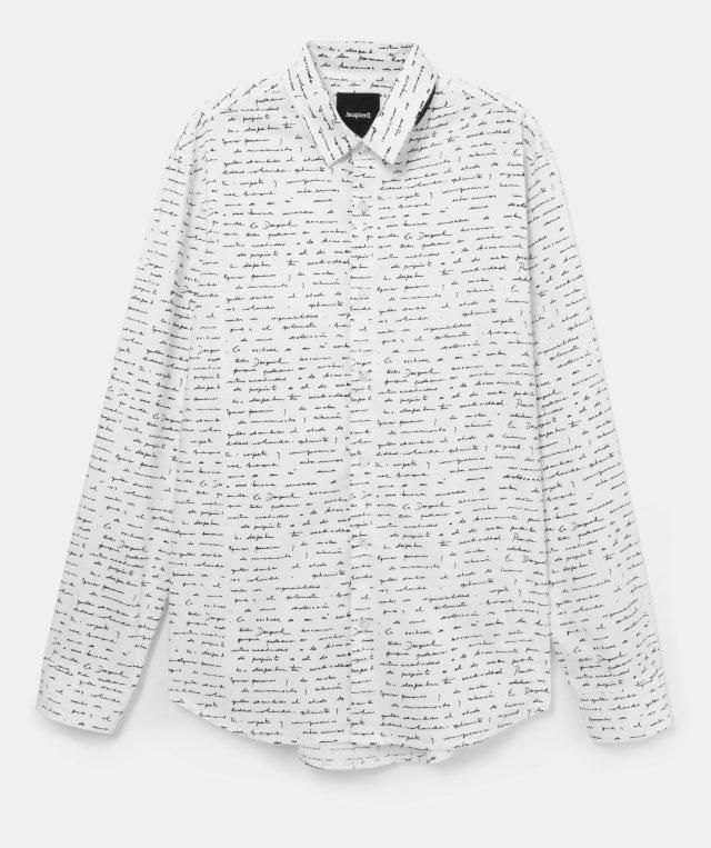 Desigual Handwritten Letter shirt  FW2020