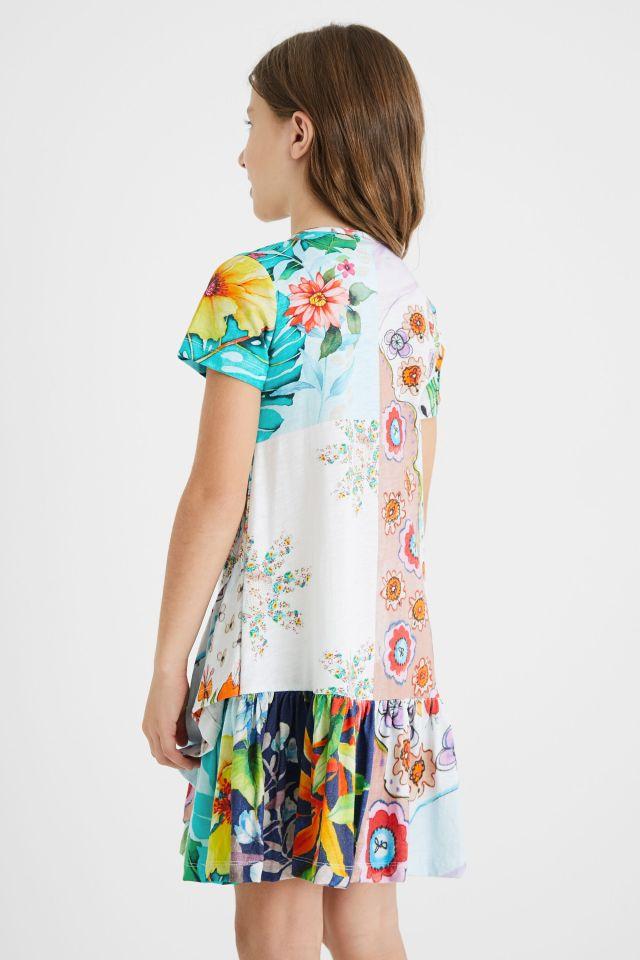 Desigual kids floral dress Summer 2021