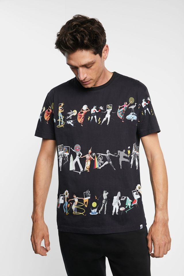Desigual arty T-shirt