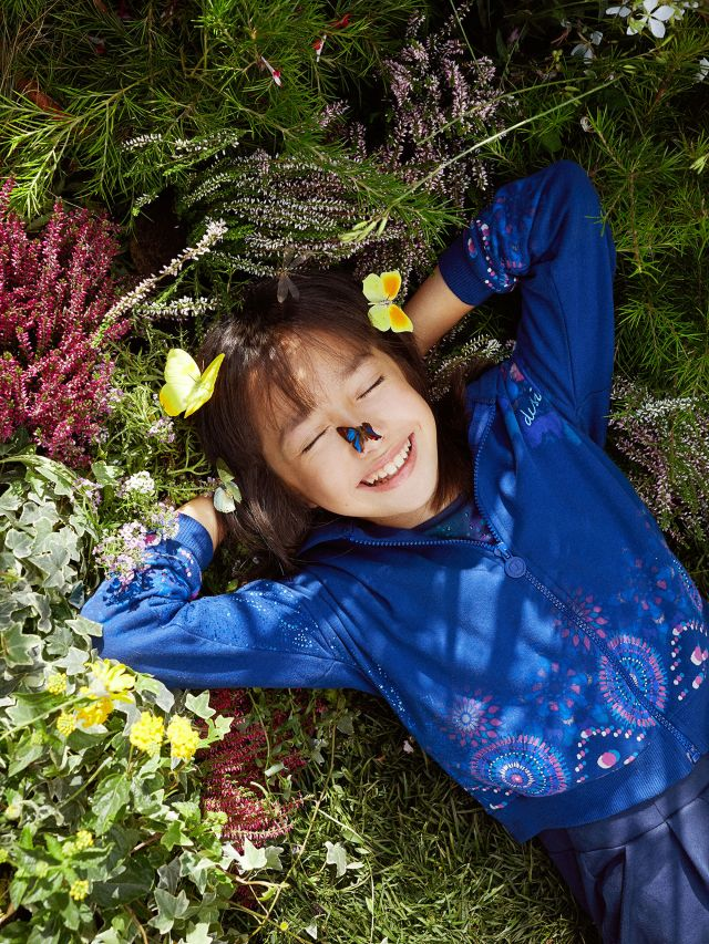 Desigual kids Summer 2021 collection now is at Angel