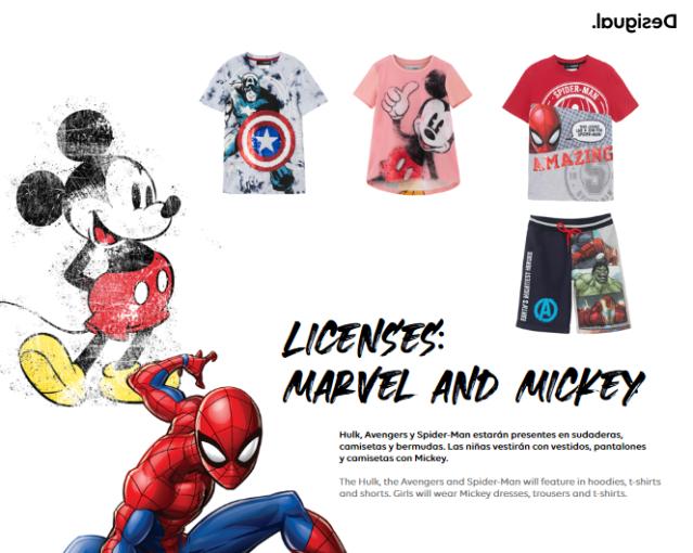 We Have Desigual Disney and Marvel shirts Summer 2021