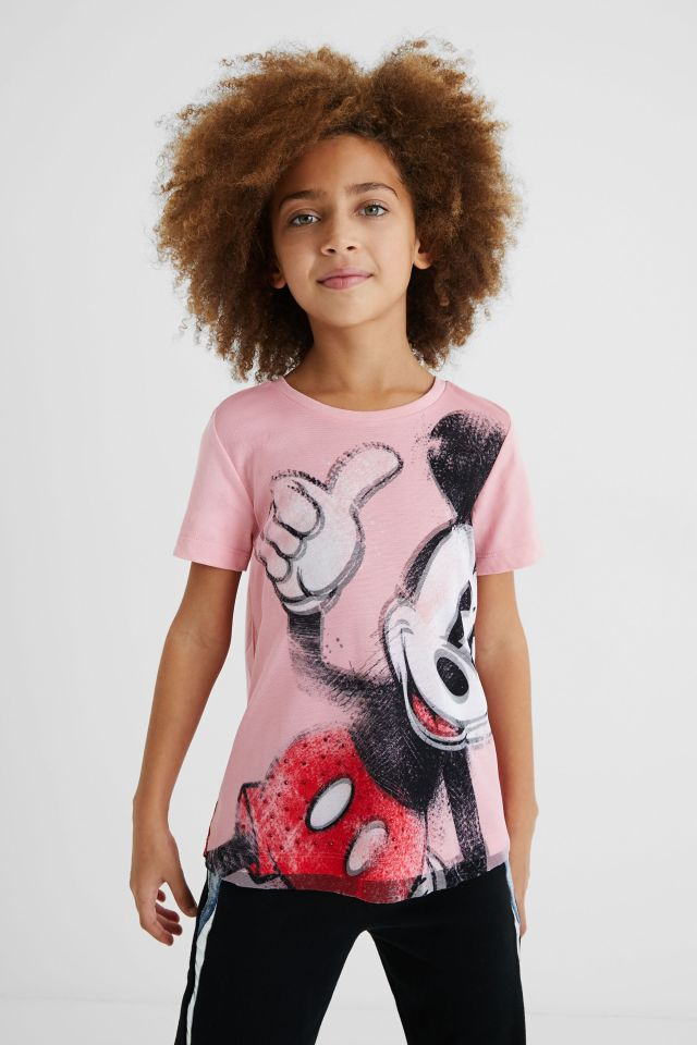 Desigual kids Mickey Mouse shirt Summer 2021