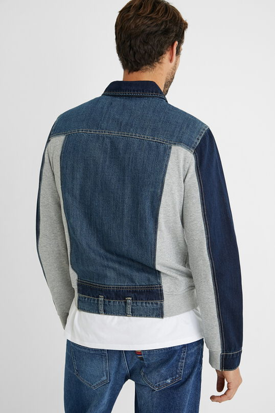 Desigual men's denim jacket Sppring-Summer 2021