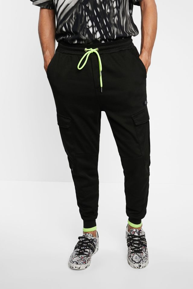 Desigual black knit jogging pants